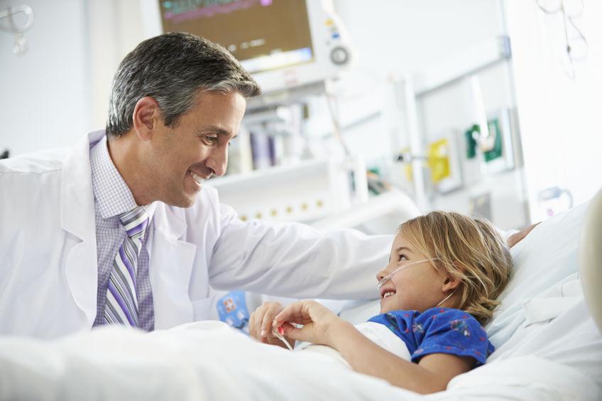 ثقب القلب عند حديثي الولادة